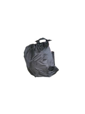 Lockvögelrucksack schwarz feinmaschig 60x70cm
