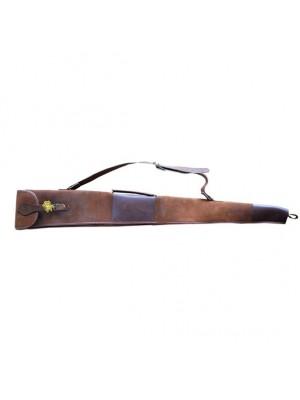 Gewehrfutteral ProLoo antique leder/hagel 20x134x5cm